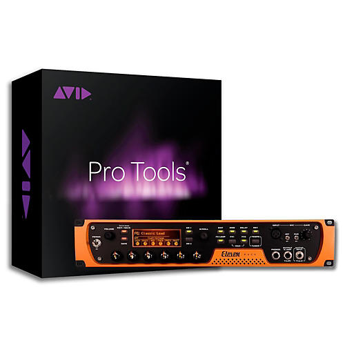 Avid Eleven Rack Guitar Multi Effects Processor and Pro Tools-thumbnail
