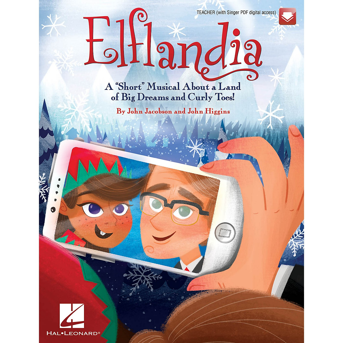 Hal Leonard Elflandia PERF KIT WITH AUDIO DOWNLOAD Composed by John Jacobson thumbnail