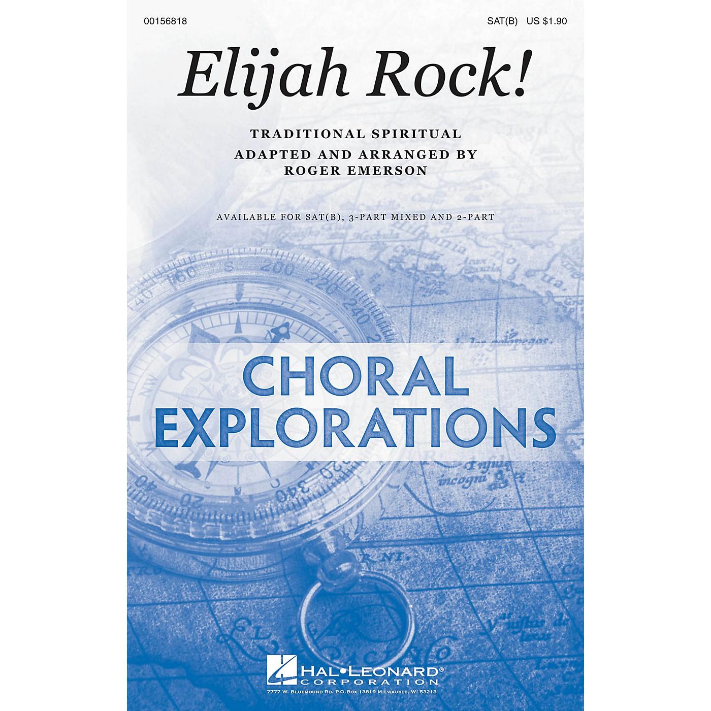Hal Leonard Elijah Rock! SAT(B) arranged by Roger Emerson thumbnail