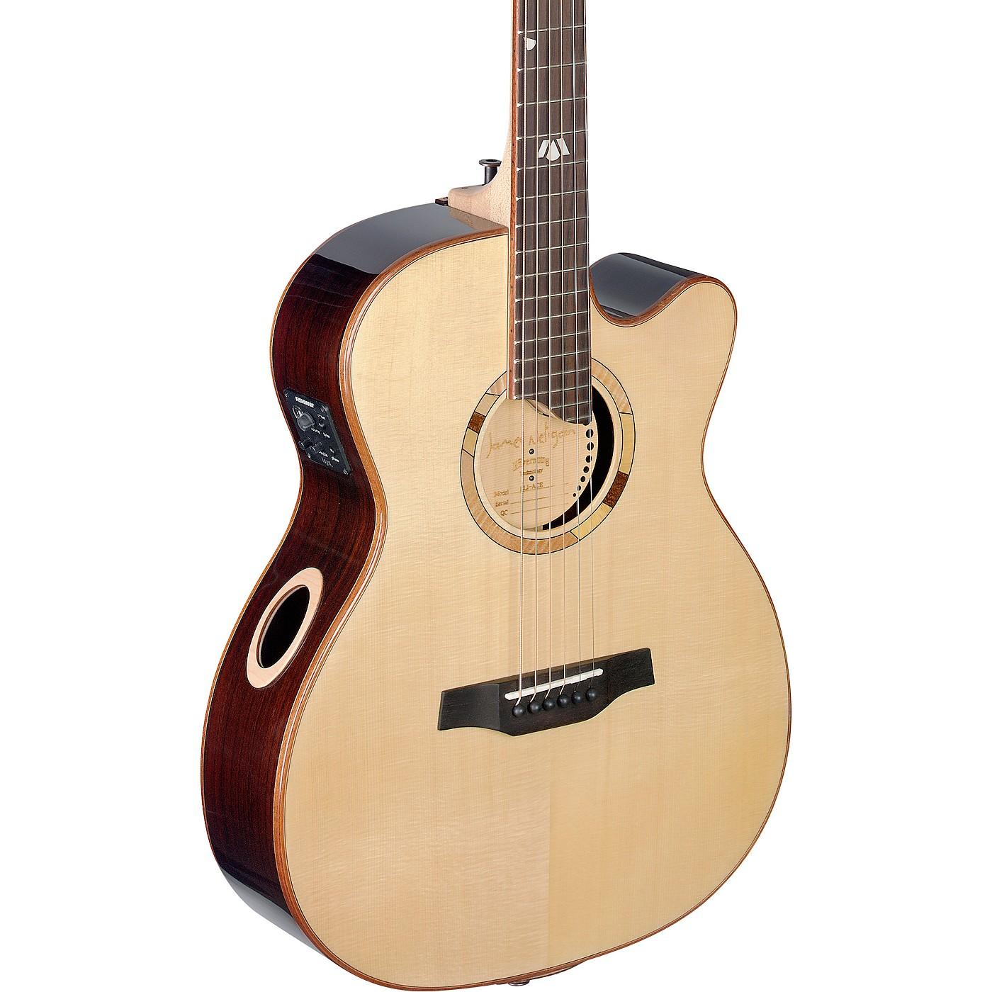 JN Guitars Elijah Series ELI-ACE Auditorium Cutaway Acoustic-Electric thumbnail