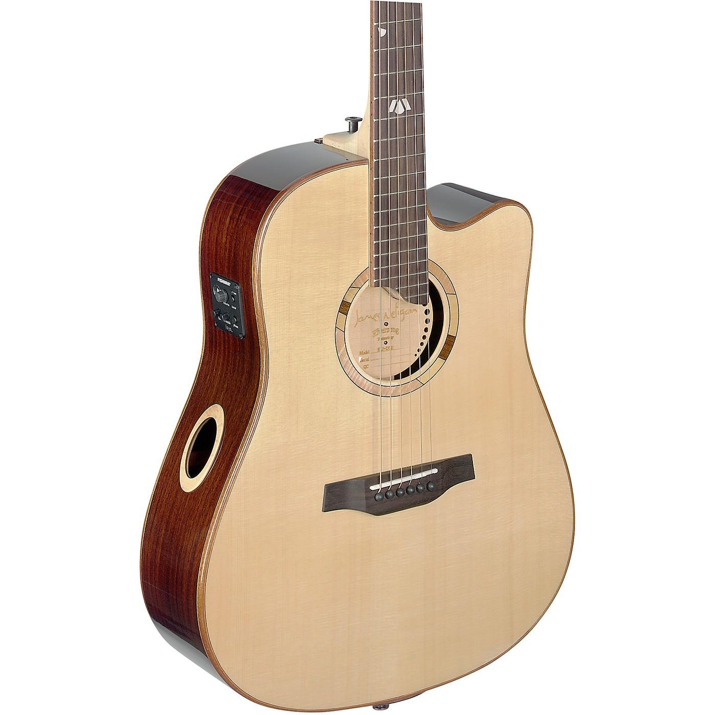 JN Guitars Elijah Series ELI-DCE Dreadnought Cutaway Acoustic-Electric thumbnail