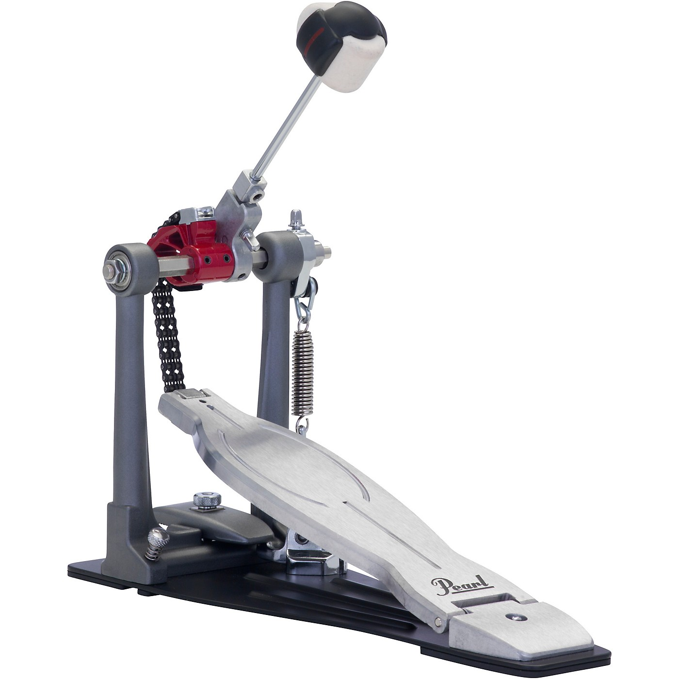 Pearl Eliminator Solo Bass Drum Pedal, Red Cam thumbnail