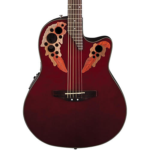 Applause Elite Mid-Depth Bowl Acoustic-Electric Guitar thumbnail