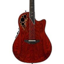 Ovation Elite Plus C2078AXP-OAB Olive Ash Burl Acoustic-Electric Guitar