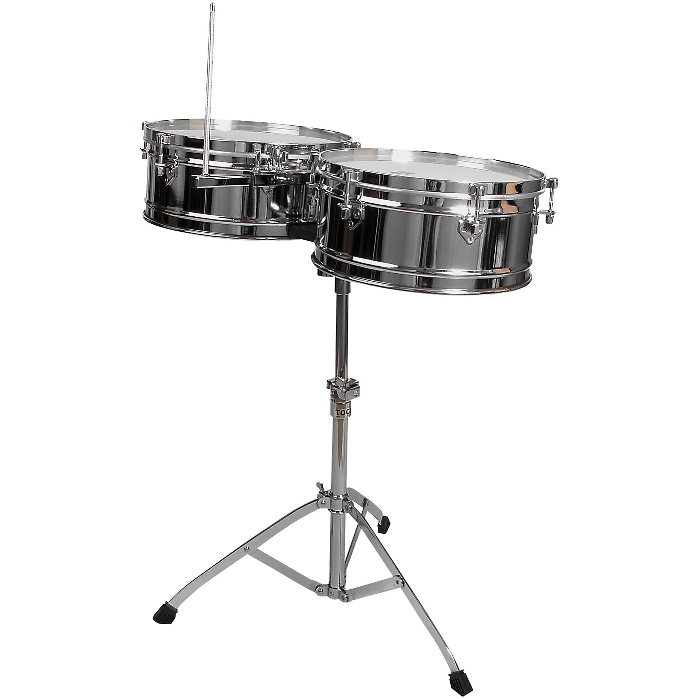 Toca Elite Series Steel Timbales 14