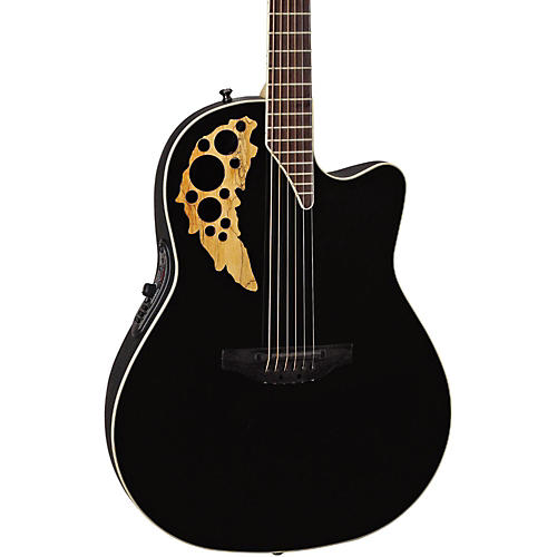 Ovation Elite TX Mid Depth Cutaway Acoustic-Electric Guitar thumbnail