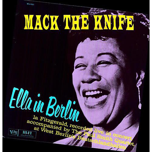Ella Fitzgerald Ella In Berlin Woodwind Amp Brasswind