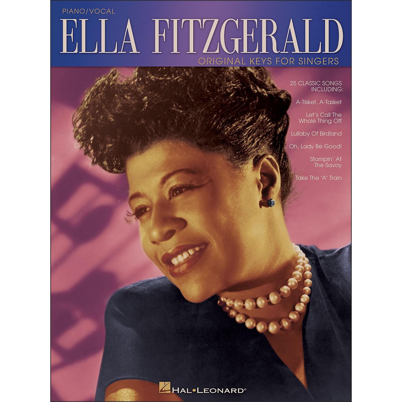 Hal Leonard Ella Fitzgerald - Original Keys for Singers (Vocal / Piano) thumbnail