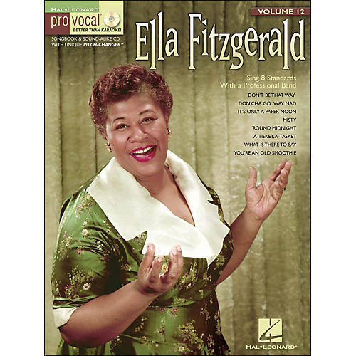 Hal Leonard Ella Fitzgerald Pro Vocal Songbook & CD for Female Singers Volume 12 thumbnail