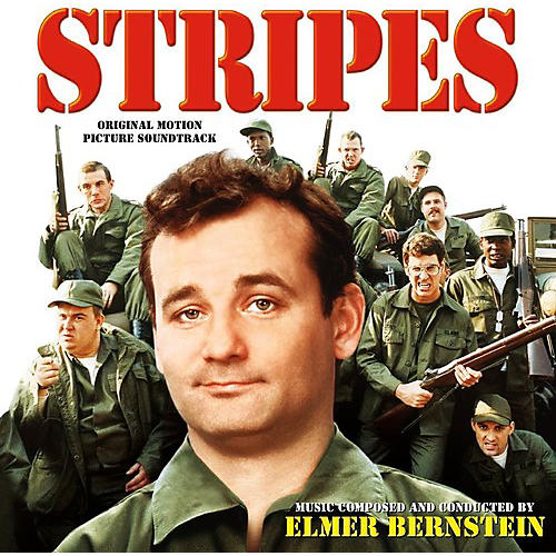 Alliance Elmer Bernstein - Stripes (Red, White & Blue Striped) thumbnail