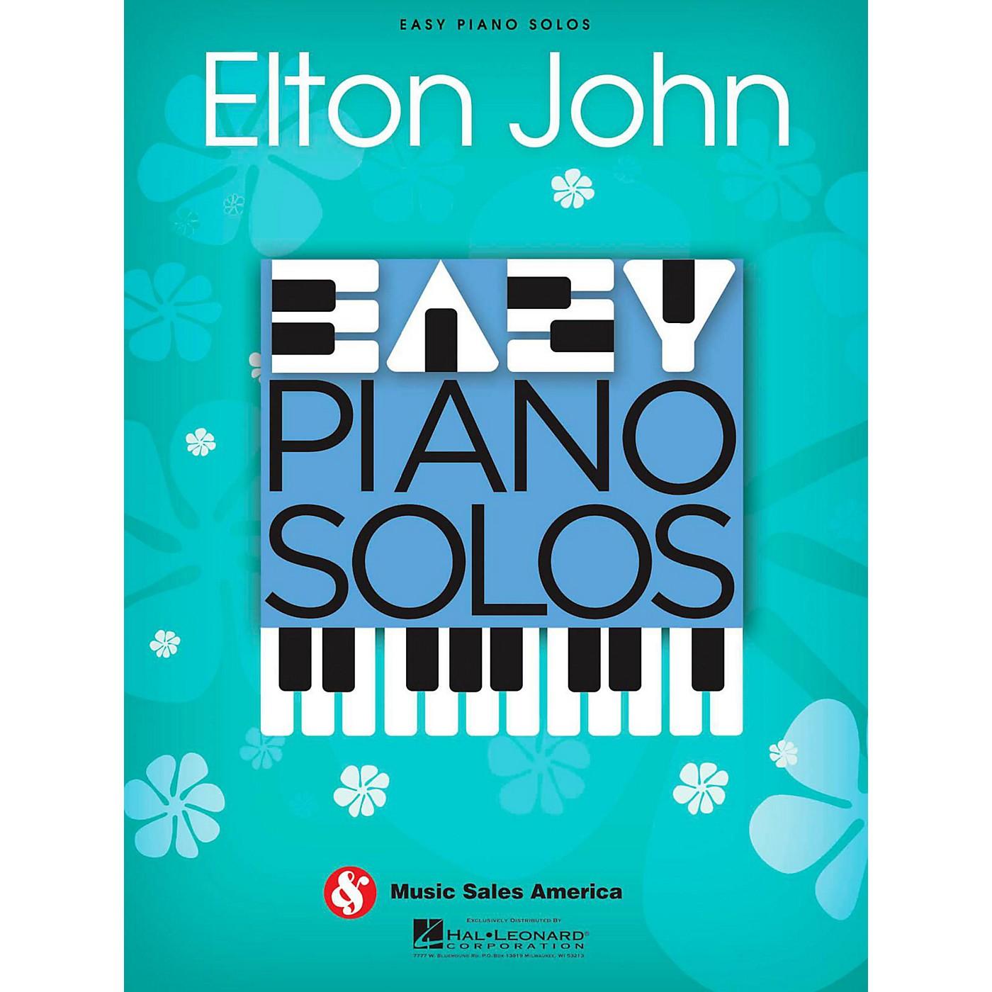 Music Sales Elton John - Easy Piano Solos Series thumbnail