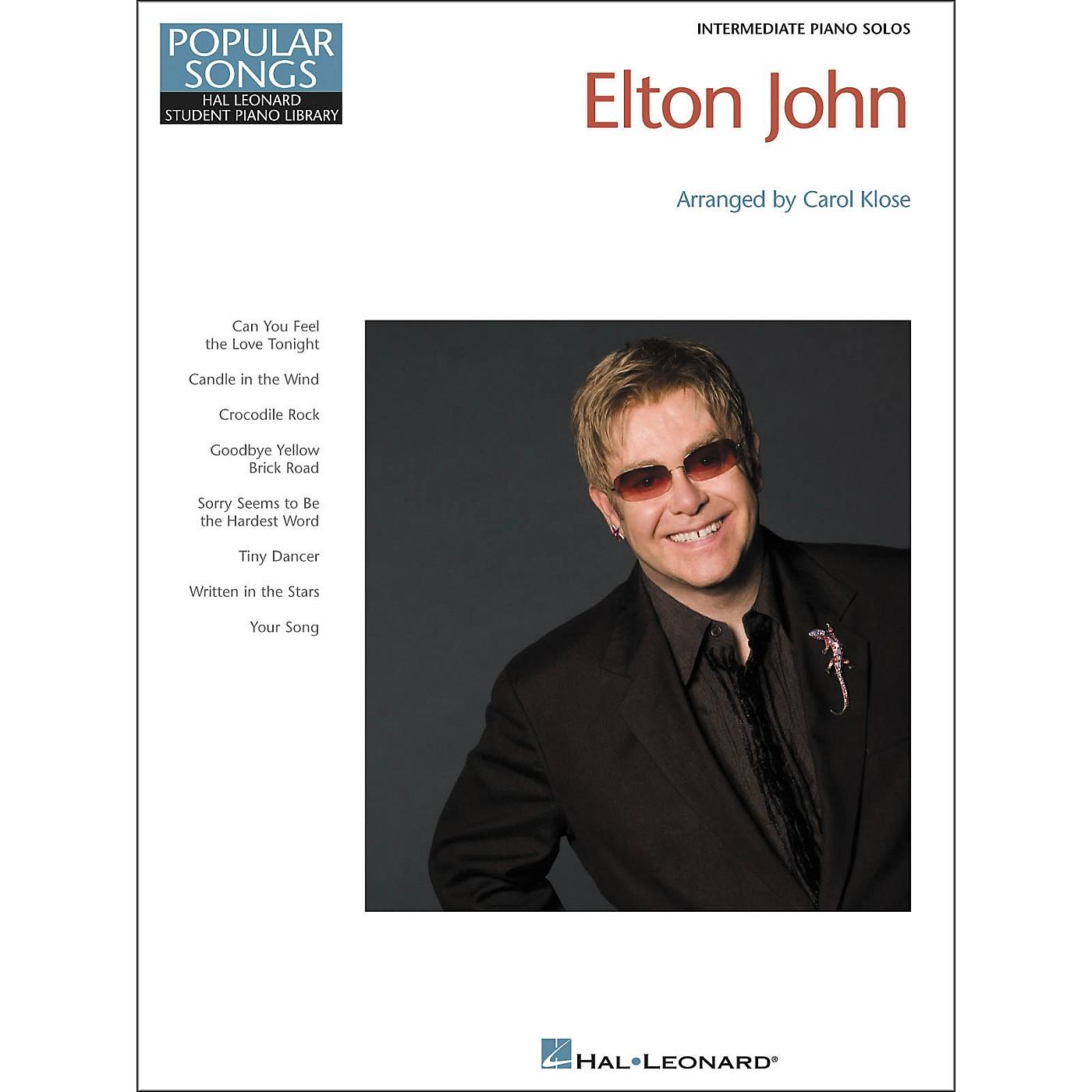 Hal Leonard Elton John - Hal Leonard Student Piano Library Popular Songs Series by Carol Klose thumbnail