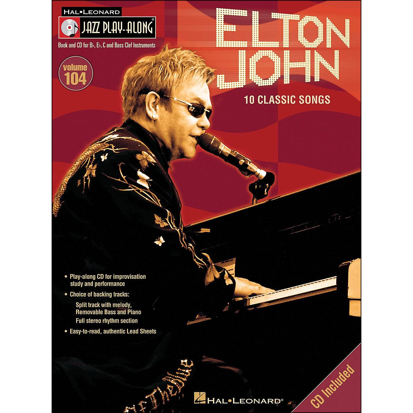 Hal Leonard Elton John - Jazz Play-Along Volume 104 (CD/Pkg) thumbnail