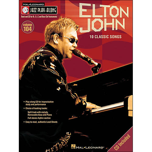 Hal Leonard Elton John - Jazz Play-Along Volume 104 (CD/Pkg) thumbnail