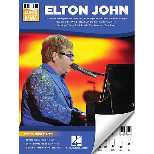 Hal Leonard Elton John - Super Easy Songbook thumbnail