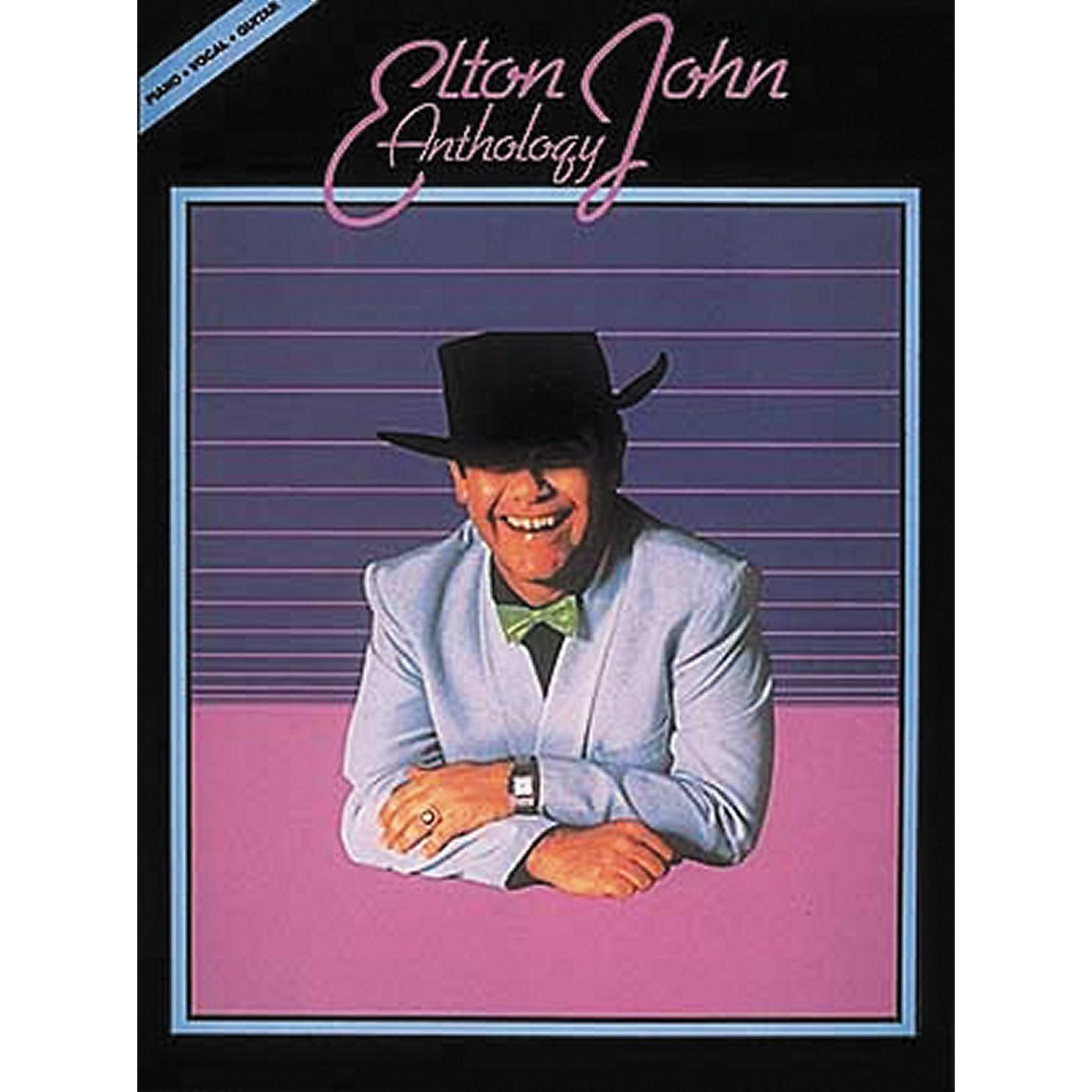 Hal Leonard Elton John Anthology Revised Piano, Vocal, Guitar Songbook thumbnail