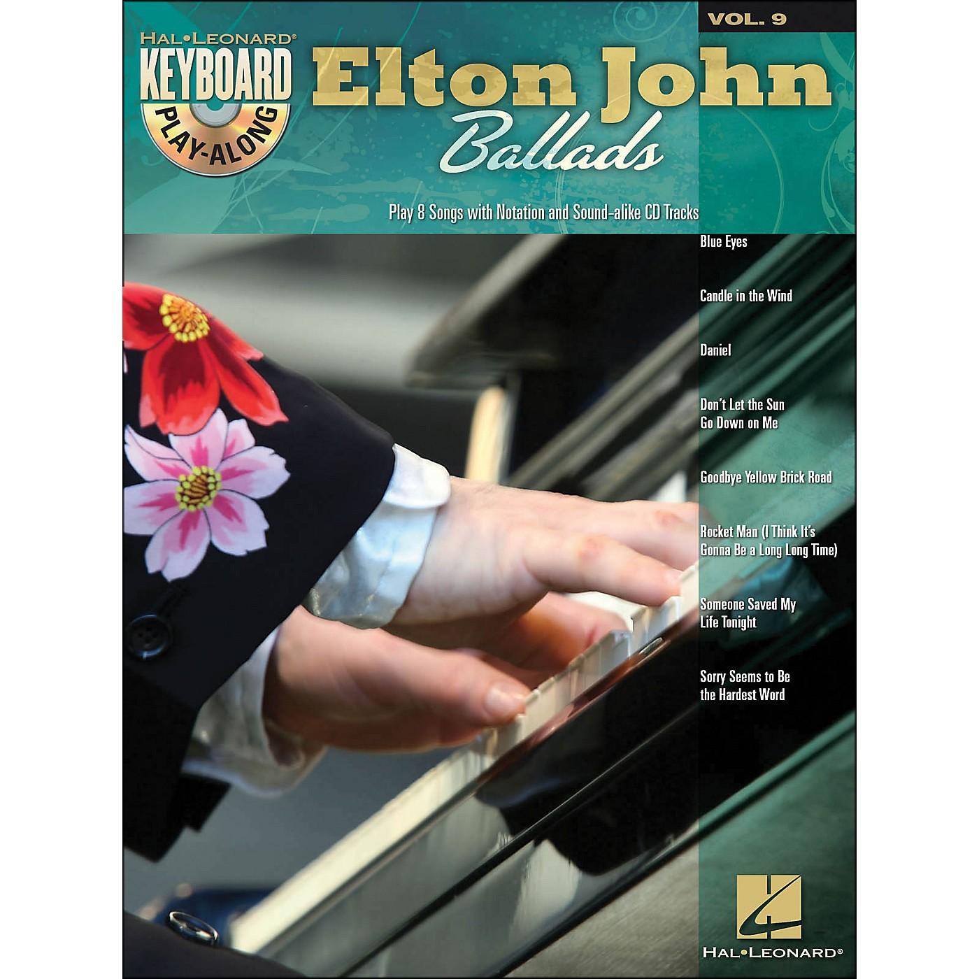 Hal Leonard Elton John Ballads - Keyboard Play-Along Volume 9 (Book/CD) thumbnail