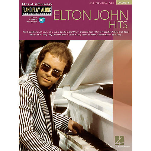 Hal Leonard Elton John Piano Play Along Volume 30 Piano, Vocal, Guitar Songbook with CD thumbnail
