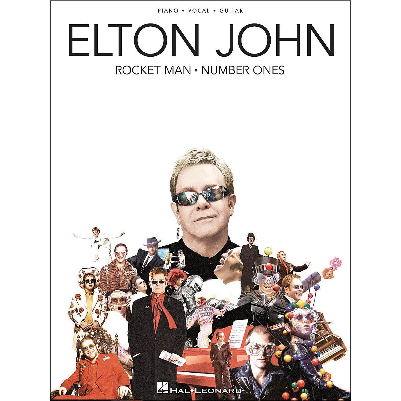 Hal Leonard Elton John Rocket Man Number Ones arranged for piano, vocal, and guitar (P/V/G) thumbnail