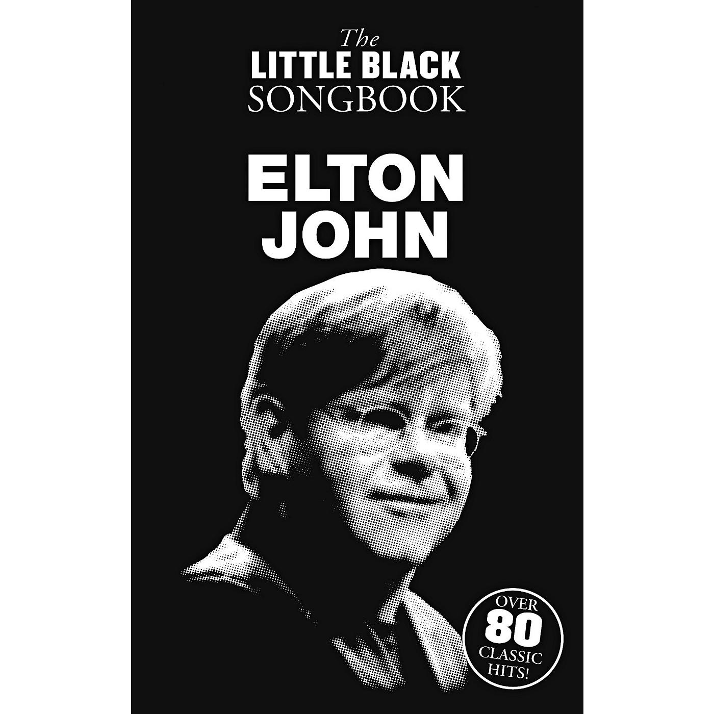 Music Sales Elton John The Little Black Songbook thumbnail