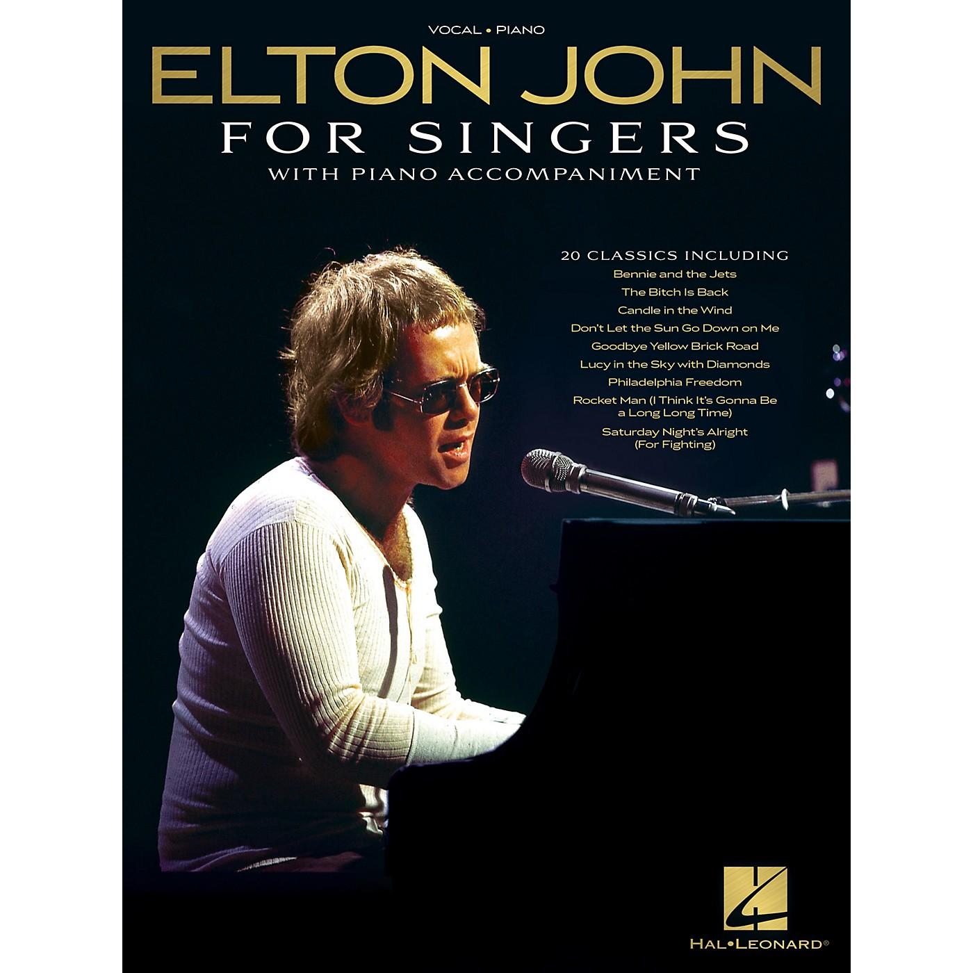 Hal Leonard Elton John for Singers (with Piano Accompaniment) Original Keys For Singers Songbook thumbnail
