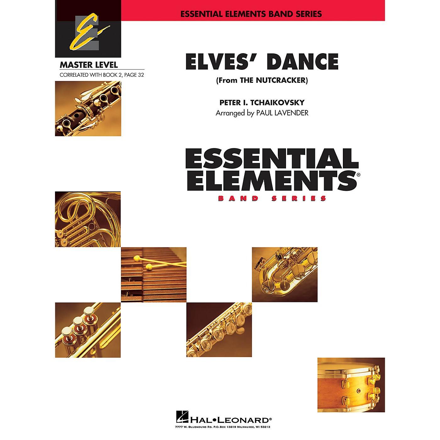 Hal Leonard Elves' Dance (from The Nutcracker) Concert Band Level 2 Arranged by Paul Lavender thumbnail