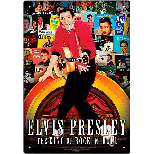 Hal Leonard Elvis - Albums Tin Sign thumbnail