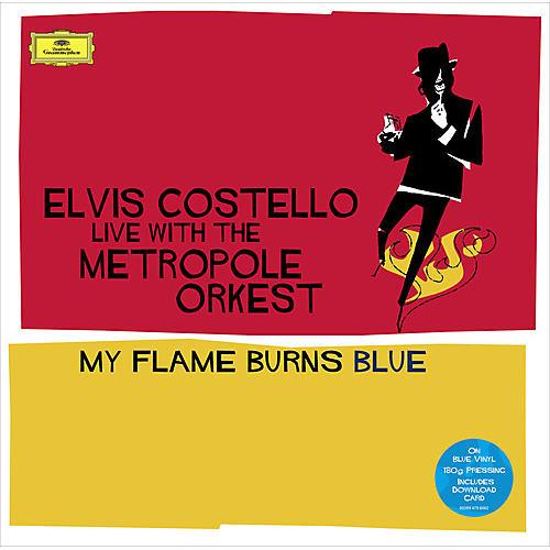Alliance Elvis Costello - My Flame Burns Blue (Blue Vinyl) (CCVinyl.com Exclusive) thumbnail