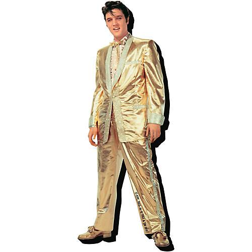 Hal Leonard Elvis Gold  Chunky Magnet thumbnail
