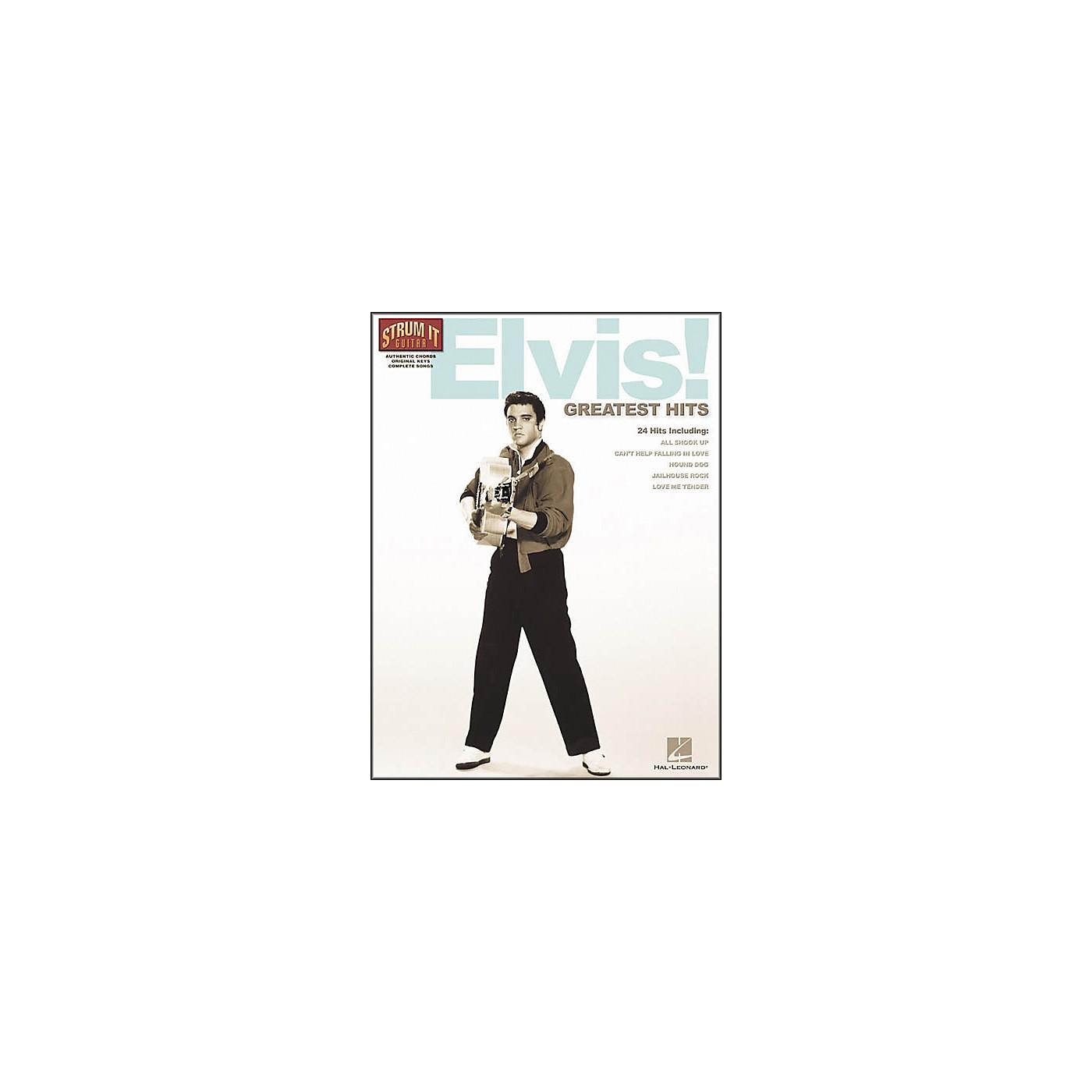Hal Leonard Elvis! Greatest Hits Guitar Tab Songbook thumbnail