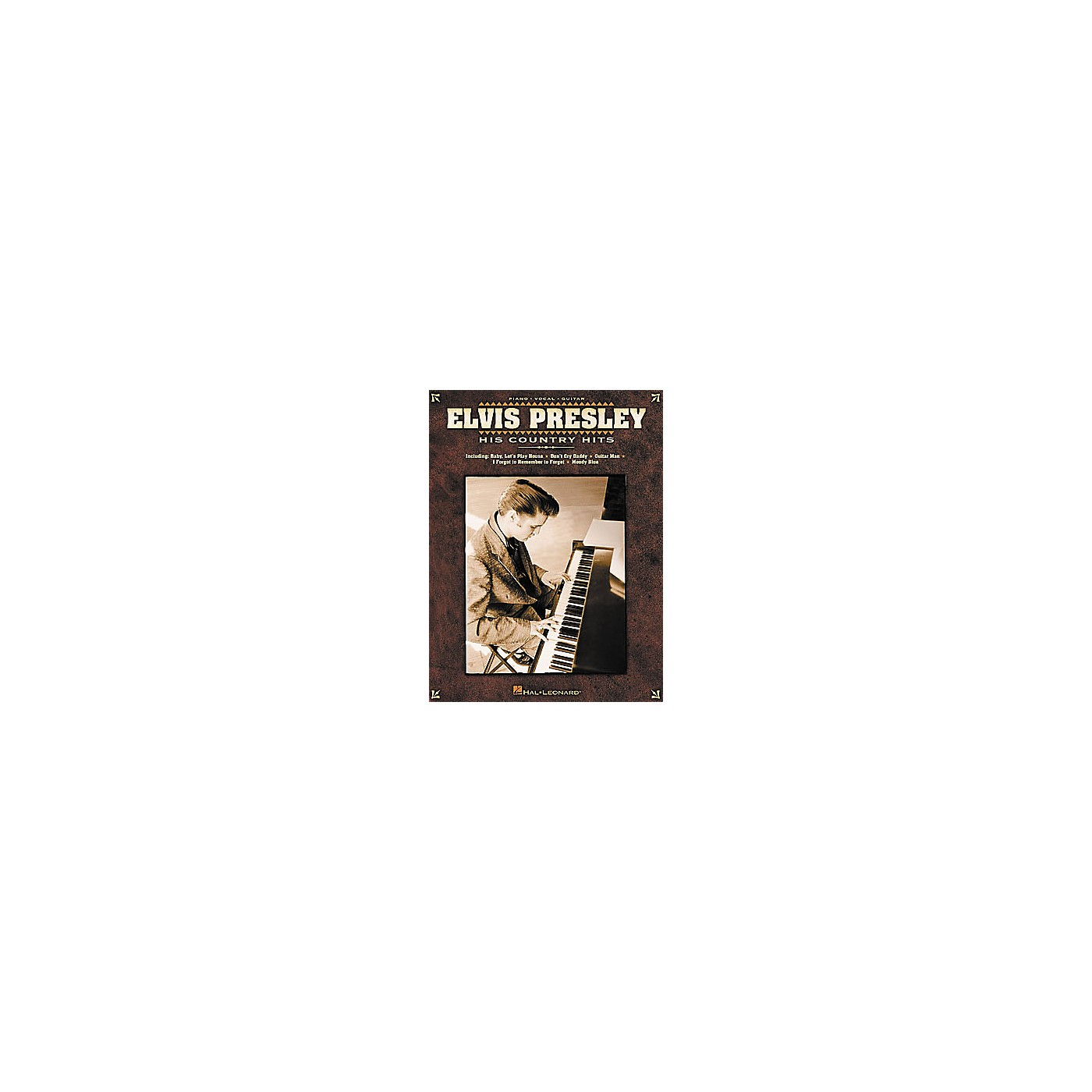 Hal Leonard Elvis Presley - His Country Hits Piano, Vocal, Guitar Songbook thumbnail