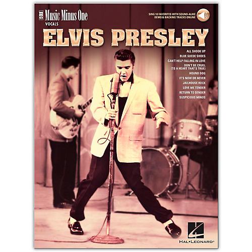 Music Minus One Elvis Presley - Music Minus One Vocals Series Book/Audio Online thumbnail