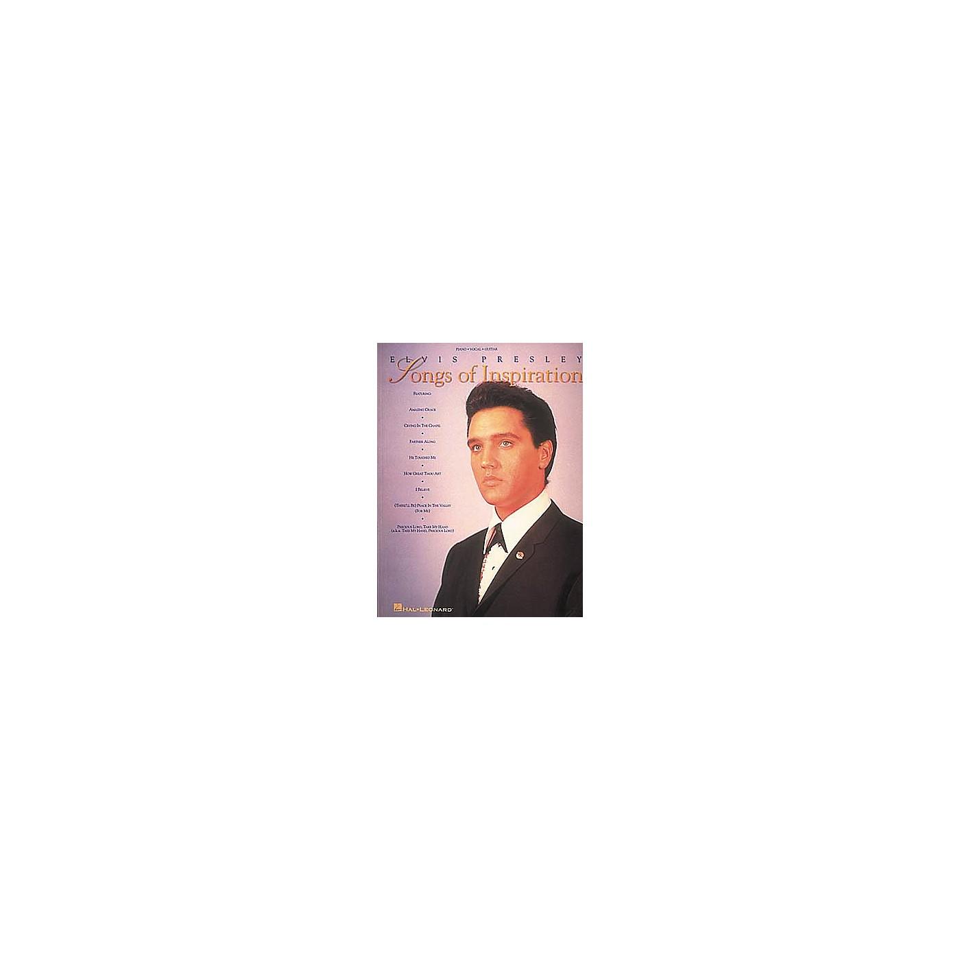 Hal Leonard Elvis Presley - Songs Of Inspiration Book thumbnail