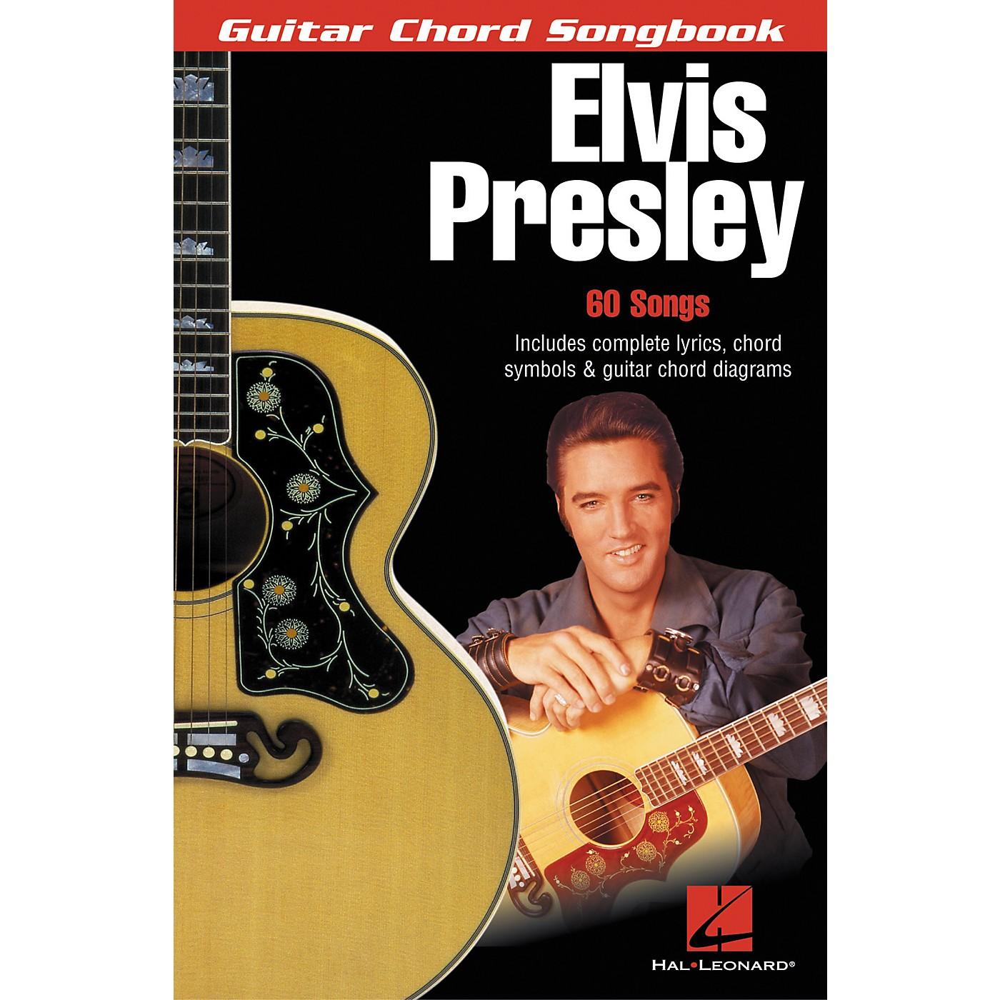 Hal Leonard Elvis Presley Guitar Chord Songbook thumbnail
