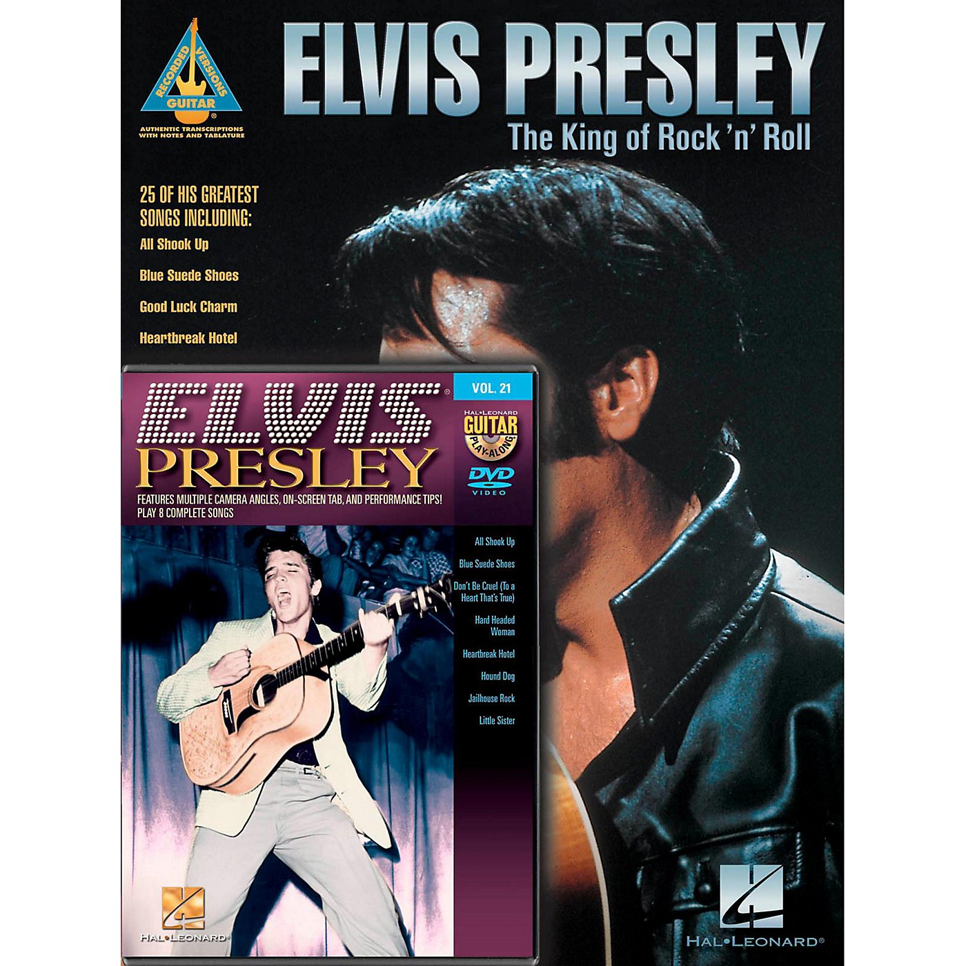 Hal Leonard Elvis Presley Guitar Pack Book/DVD thumbnail