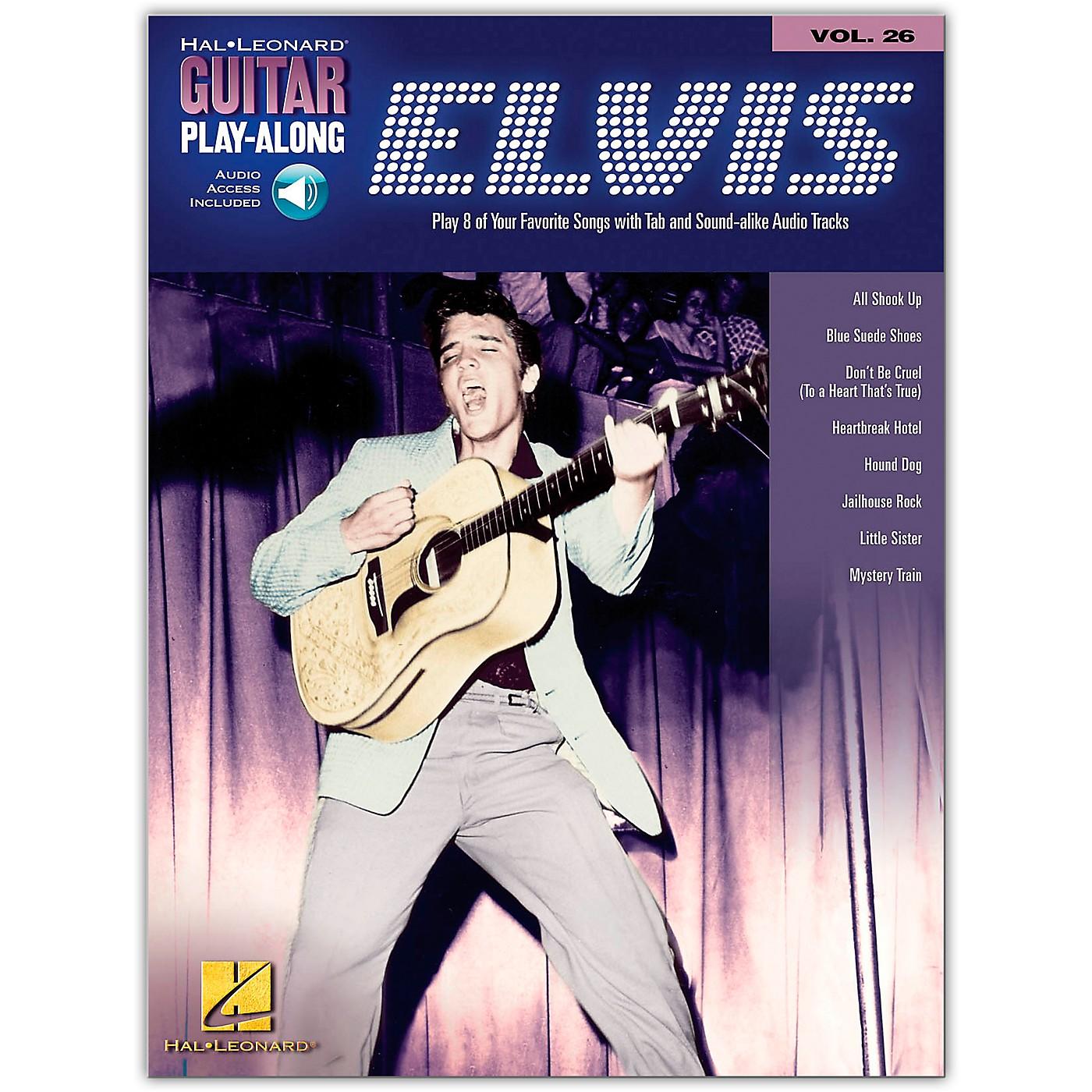 Hal Leonard Elvis Presley Guitar Play-Along Series Volume 26 (Book/Online Audio) thumbnail