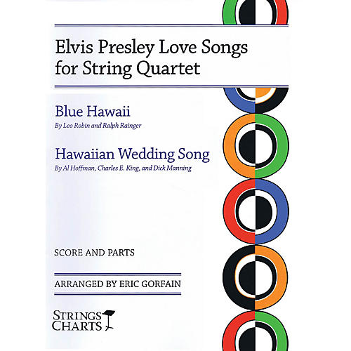 Hal Leonard Elvis Presley Love Songs for String Quartet String Letter Publishing Series Softcover by Elvis Presley thumbnail