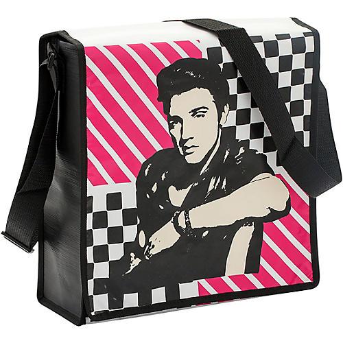 Vandor Elvis Presley Recycled Messenger Tote thumbnail