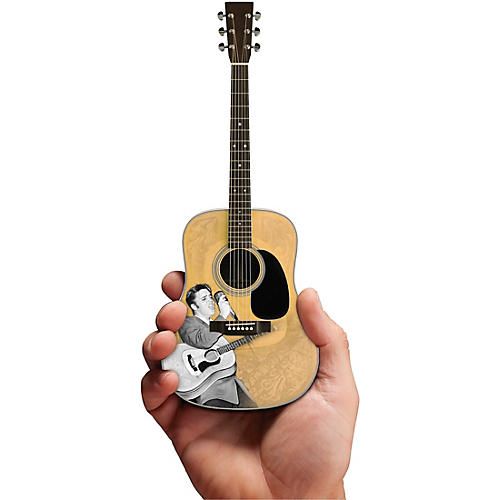 Axe Heaven Elvis Presley Signature '55 Tribute Acoustic Model Officially Licensed Miniature Guitar Replica thumbnail