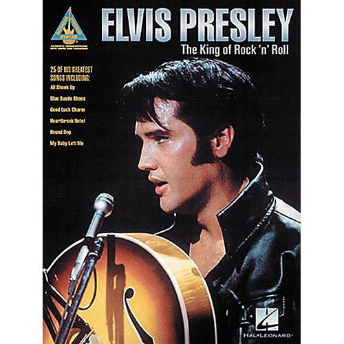Hal Leonard Elvis Presley The King of Rock 'n' Roll Guitar Tab Songbook thumbnail