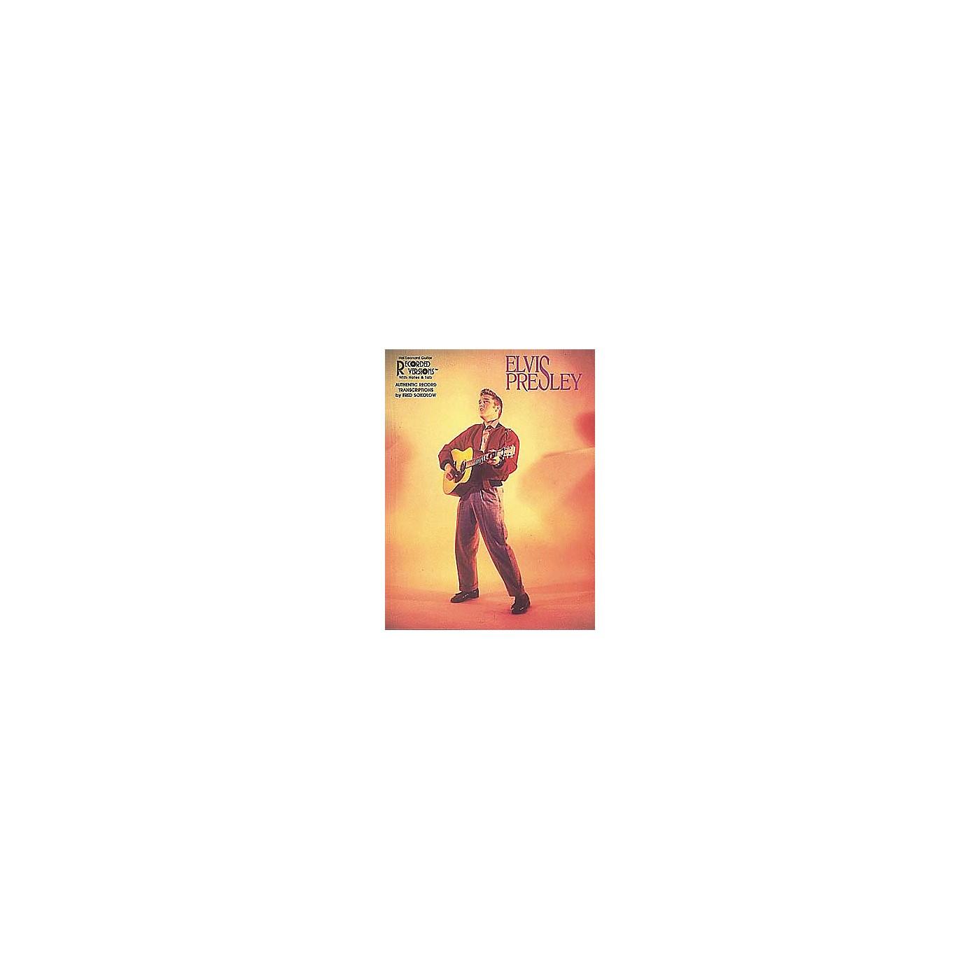 Hal Leonard Elvis Presley thumbnail