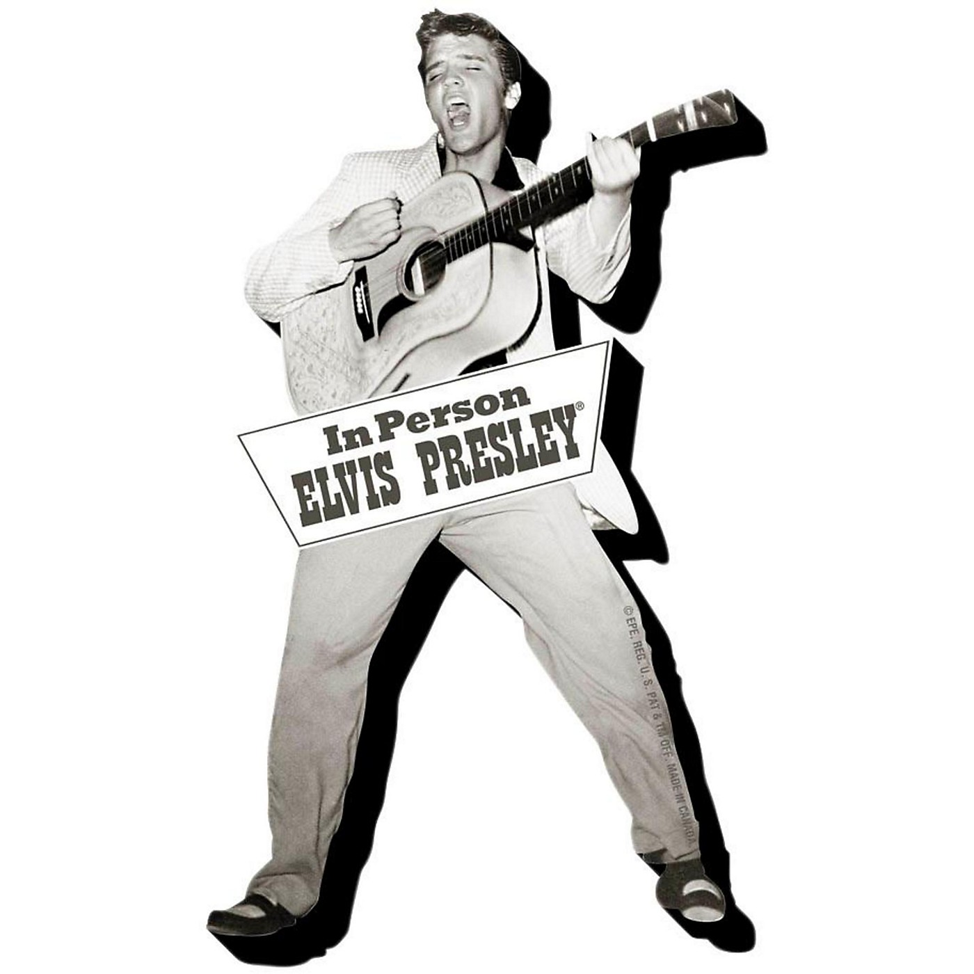 Hal Leonard Elvis Tupelo  Chunky Magnet thumbnail