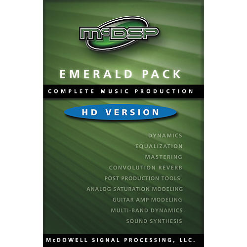 McDSP Emerald Pack 4.0 Software - HD Version-thumbnail