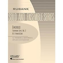 Rubank Publications Emerald (Trombone (Baritone B.C.) Solo with Piano - Grade 1) Rubank Solo/Ensemble Sheet Series