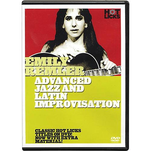 Hot Licks Emily Remler Advanced Jazz and Latin Improvisation DVD thumbnail