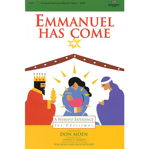 Integrity Music Emmanuel Has Come (A Worship Experience for Christmas) CD ACCOMP Arranged by Steven V. Taylor thumbnail