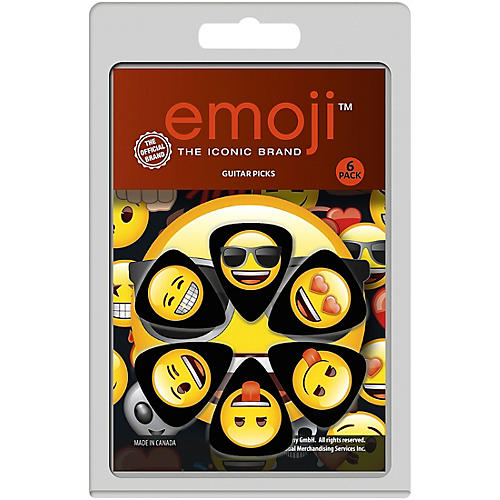 Perri's Emoji Guitar Pick 6-Pack thumbnail