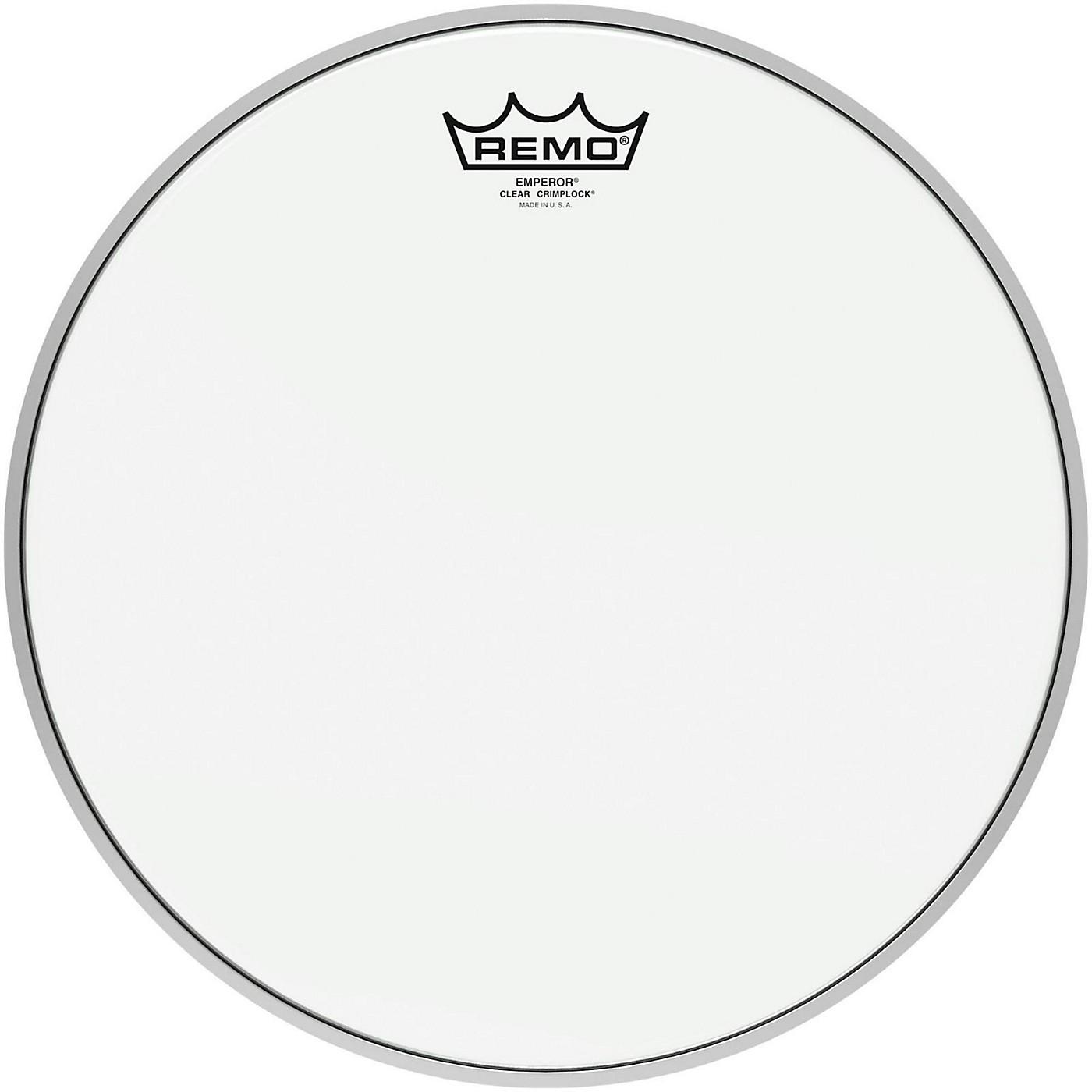 Remo Emperor Clear Crimplock Tenor Drumhead thumbnail