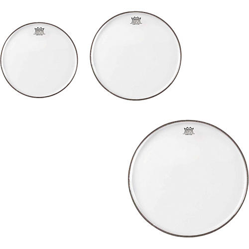 Remo Emperor Clear Tom Drumhead Pack, New Fusion thumbnail
