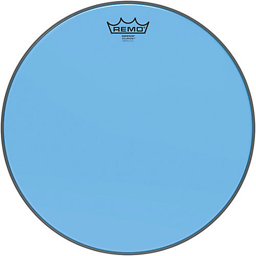 remo emperor colortone blue drum head woodwind brasswind. Black Bedroom Furniture Sets. Home Design Ideas